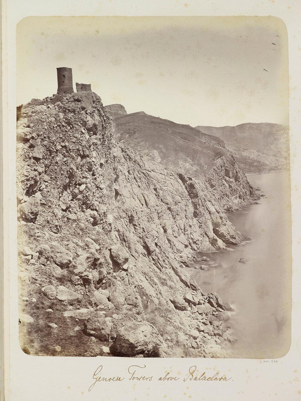 Генуэзская крепость над Балаклавой