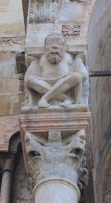 Средневековый атлант