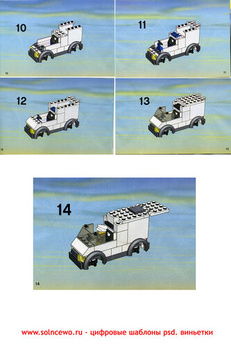 техника» LEGO схемы на