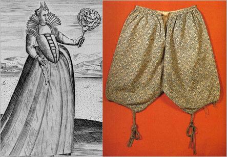 История женских панталон