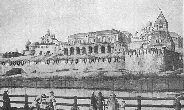Кремлёвский дворец 18 век