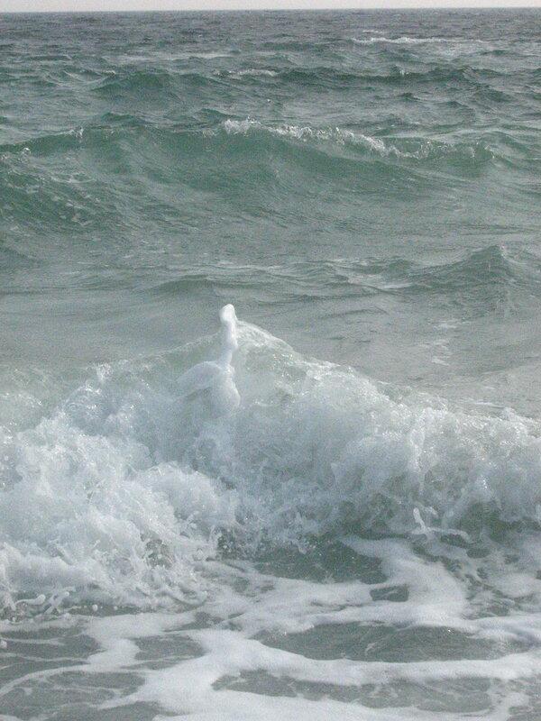 Причудливая волна:-)
