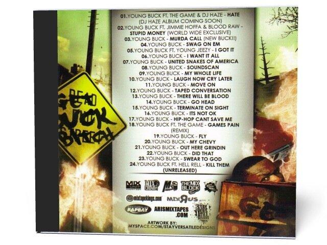 The Street Alliance & Young Buck - Get Buck Bitch (2009)