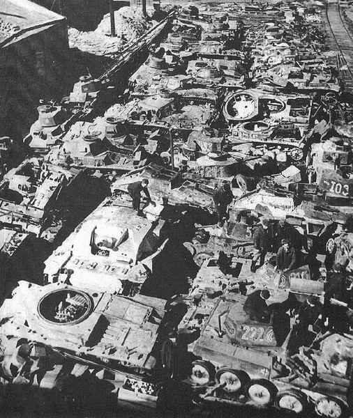 Pz.Kpfw. II / Flammpanzer II / Pz.Kpfw. 38(t) / Pz.Kpfw. III / StuG. III