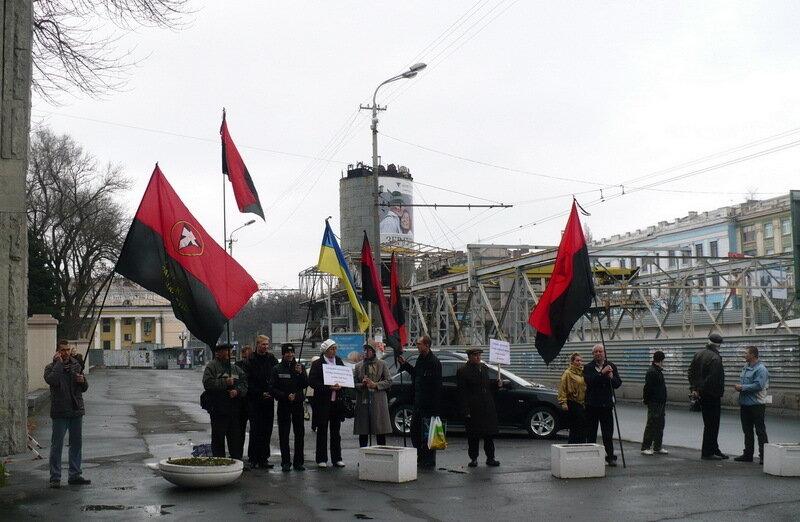 Пикет в Днепропетровске 1
