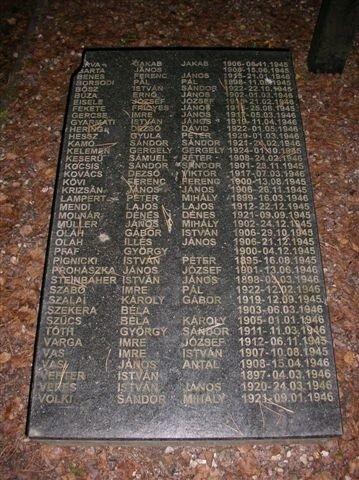 Мадьяры. Памятник