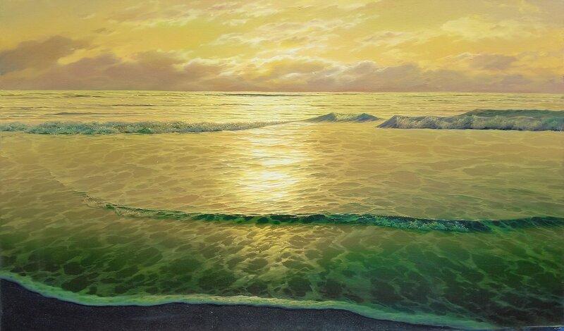 На пляже Кипра ...