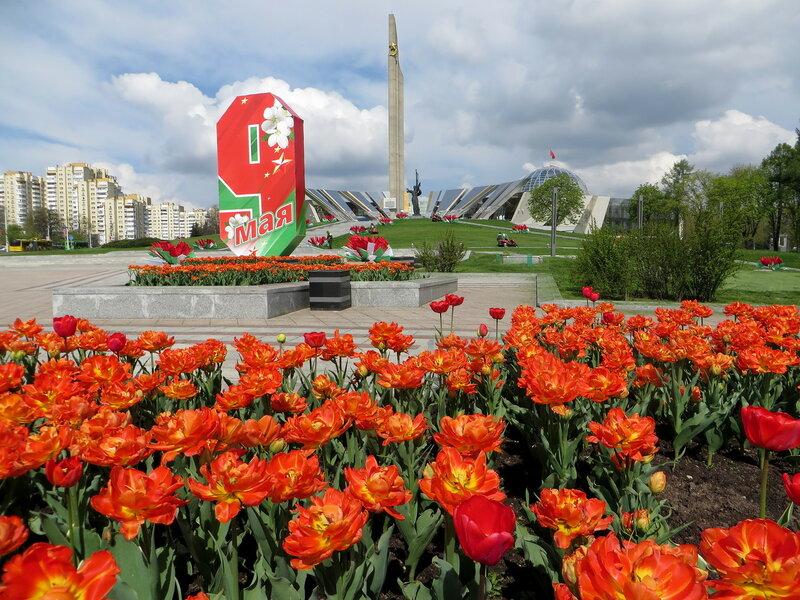 Подготовка города к 9 мая!