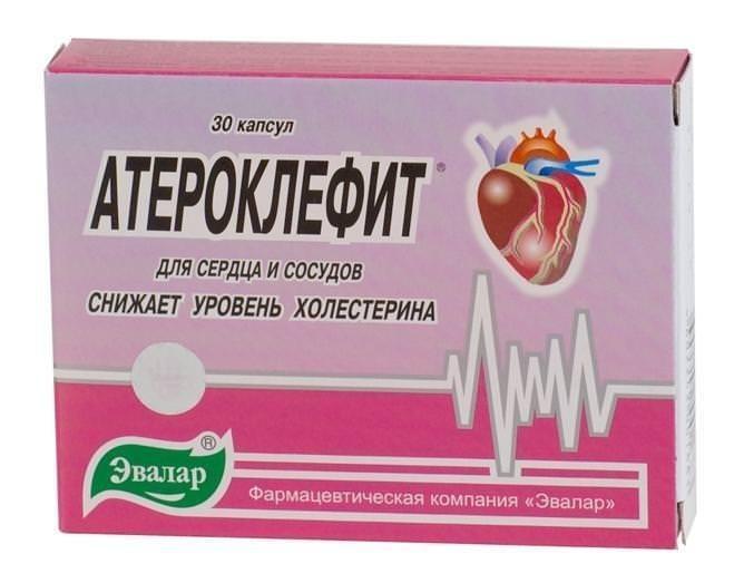 Атероклефит инструкция по применению таблетки цена