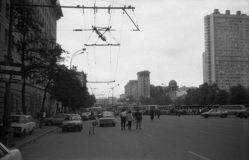 Новинский бульвар 1991 Общий вид новинский бульв..jpg