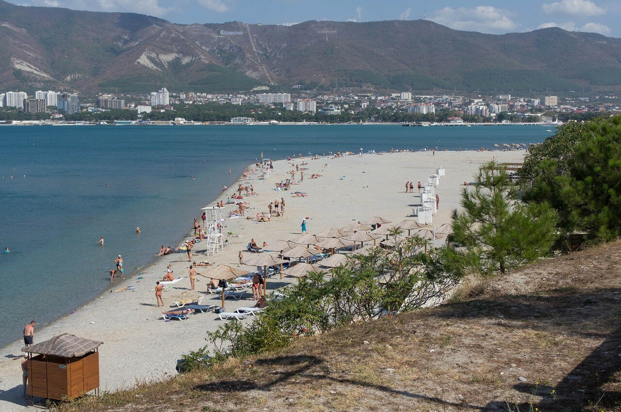 Пляж санатория русь фото