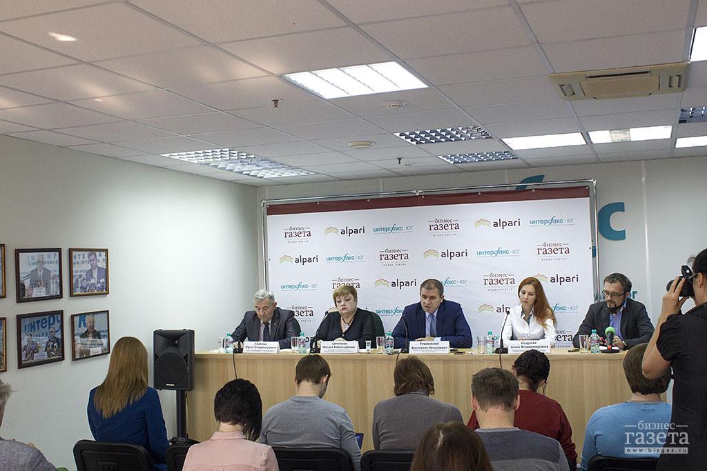 Фоторепортаж: Пресс-конференция «Зерновой рынок и точки роста экономики Ростовской области»