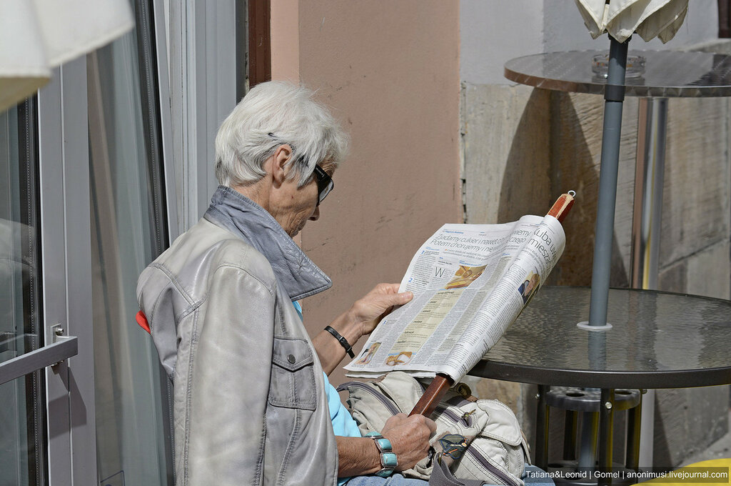 Люди в Кракове