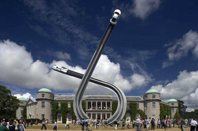 Джерри Джуда: невероятные автомобильные скульптуры