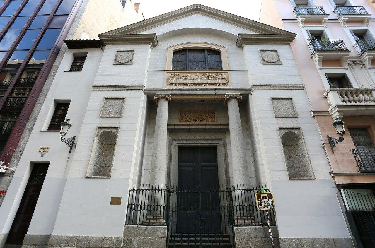 Мадрид. Оратория Кабальеро де Грасиа (Oratorio del Caballero de Gracia). Главный вход
