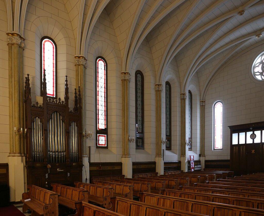 Мадрид. Протестантская церковь (Iglesia Catedral del Redentor)
