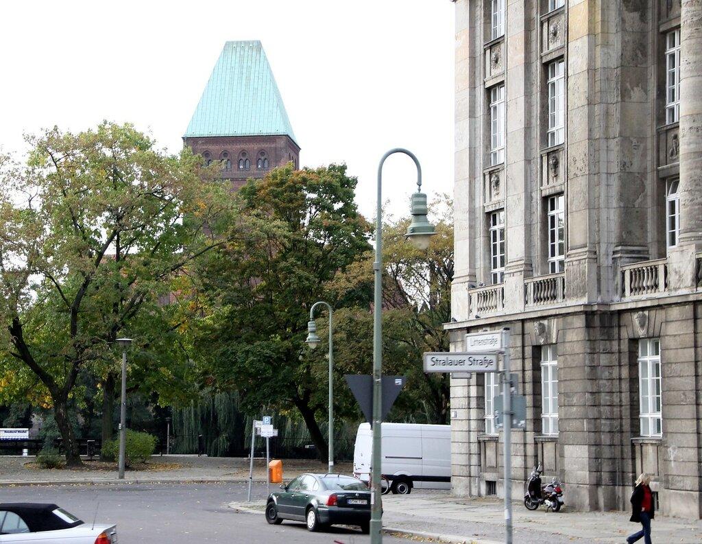 Berlin in early October