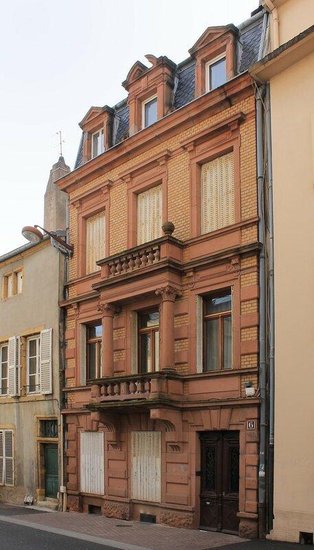 Мец. Улица Окс Урс (Rue aux Ours)