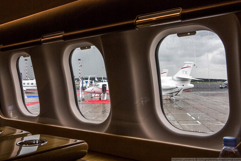 20. Dassault Aviation привели Falcon 7X и 900.