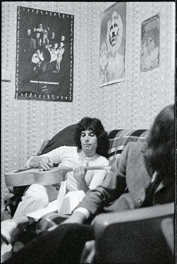 Фредди обучался в художественном колледже Илинг с Питером Таунсендом и Ронни Вудом. Именно здесь он