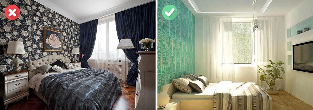 Чтобы комната казалась просторной, внее должно проникать как можно больше естественного света. Поэт