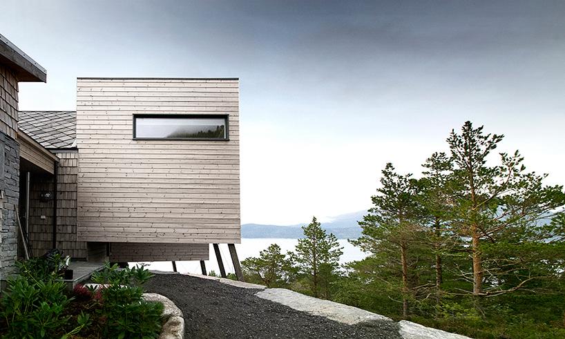 Частный дом в живописном месте Норвегии