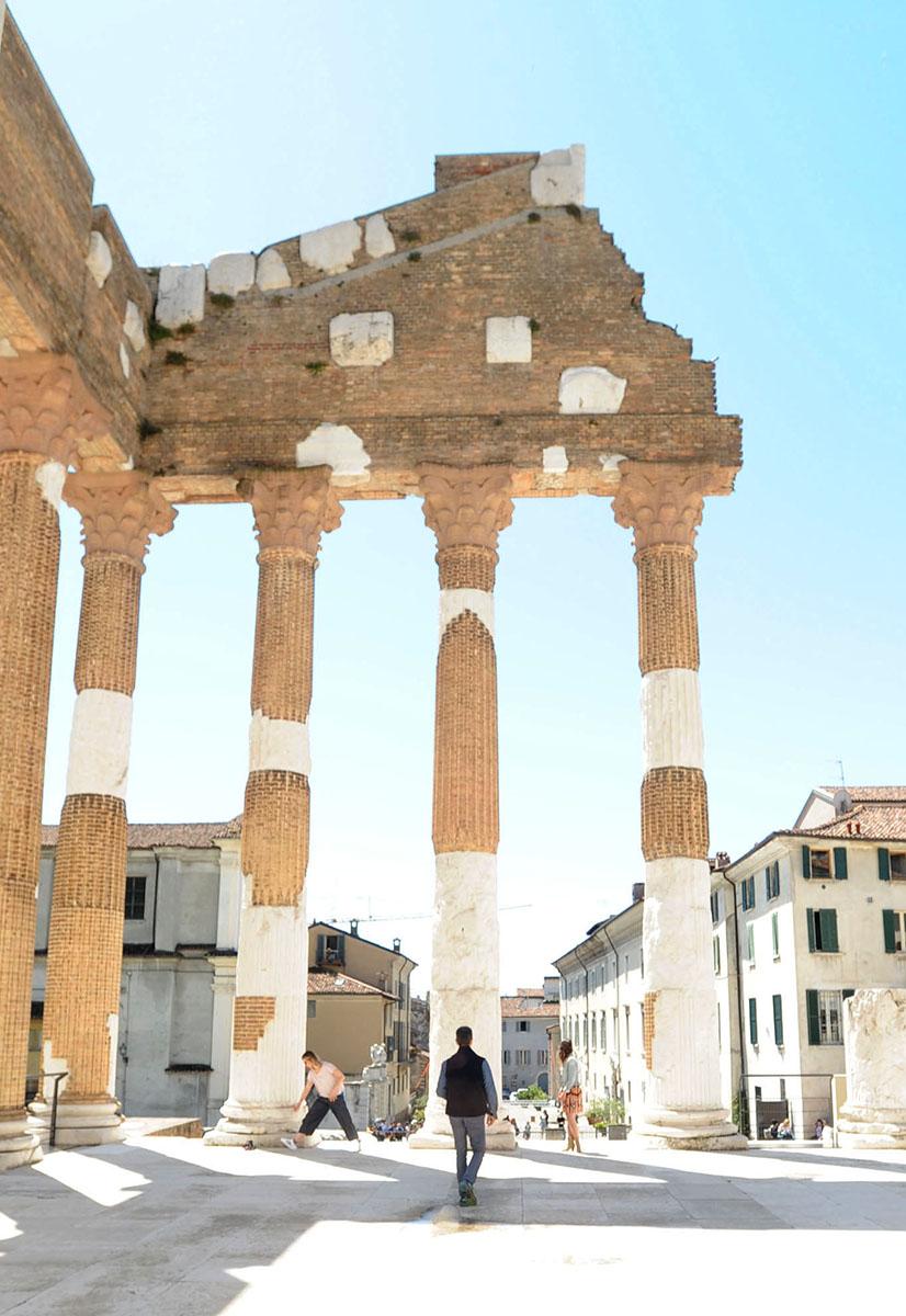 24. Стоит отметить, что Брешиа — один из немногих городов Северной Италии, сохранивший свою оригинал