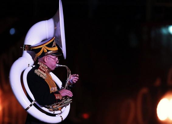 В праздничном параде «Спасской башни» примут участие тысячи музыкантов