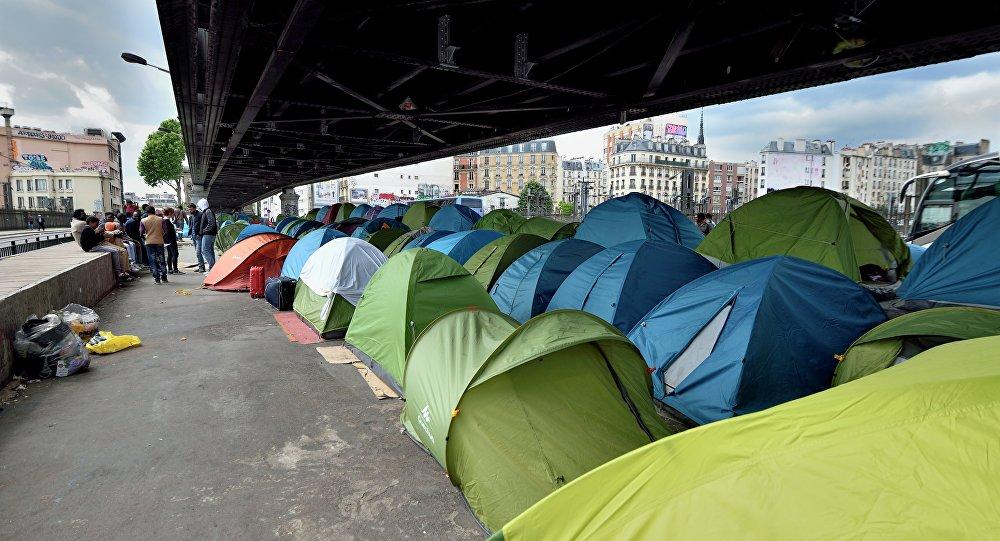 Встолице франции возведут 1-ый официальный лагерь для беженцев