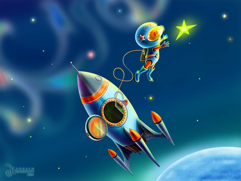 Коллекция обоев на тему космоса №2