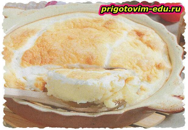 Картофельное пюре, запеченное в сливках