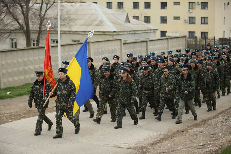 Фотографії: Крим у березні 2014 року