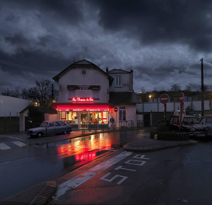 Au Chemin de Fer. Chilly-Mazarin.