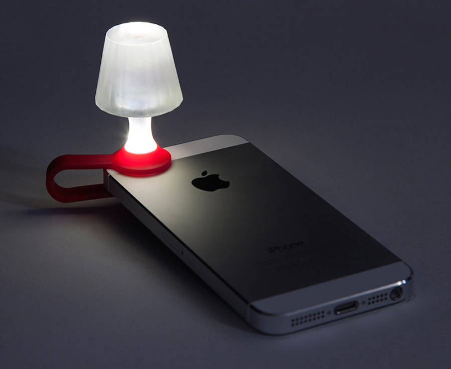 Tiny Lampshade Turning Your Smartphone Into a Light (5 pics)