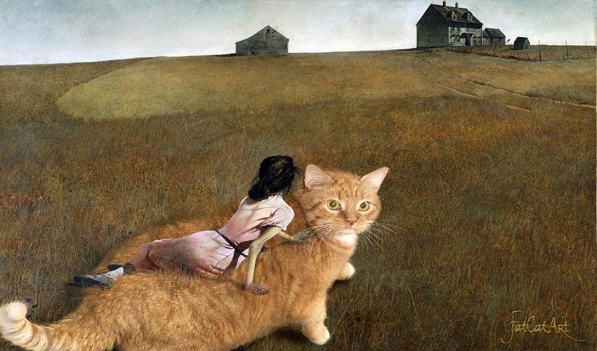 Эндрю Уайет, Кот в мире Кристины