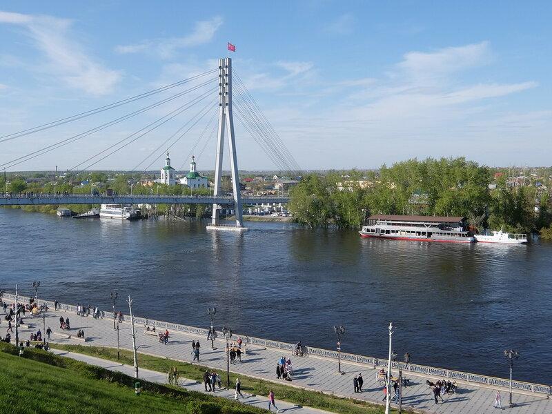 Тюмень - Мост Влюбленных