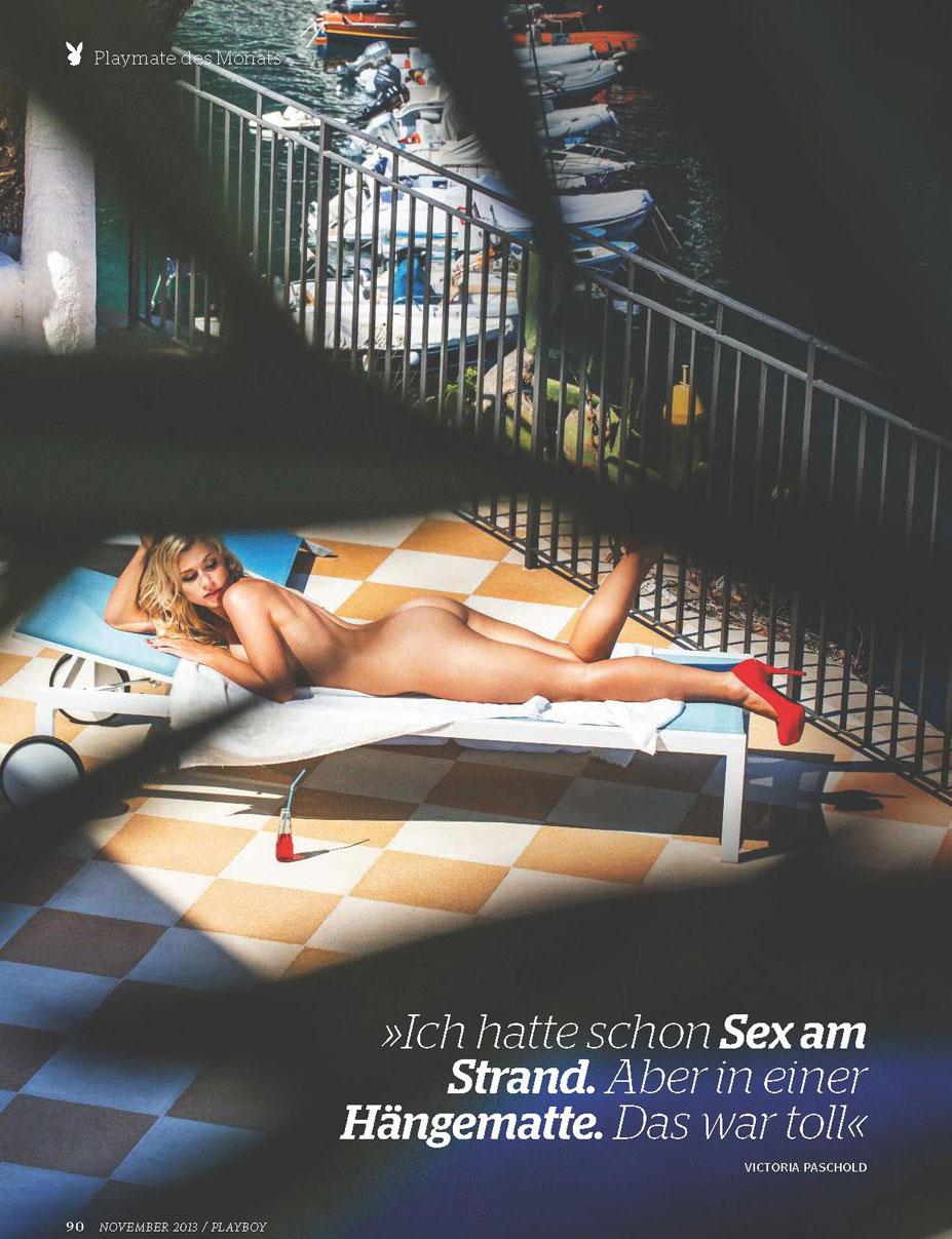 Девушка месяца Виктория Пашольд / Victoria Paschold - Playboy Germany november 2013 playmate / photo by Autumn Sonnichsen
