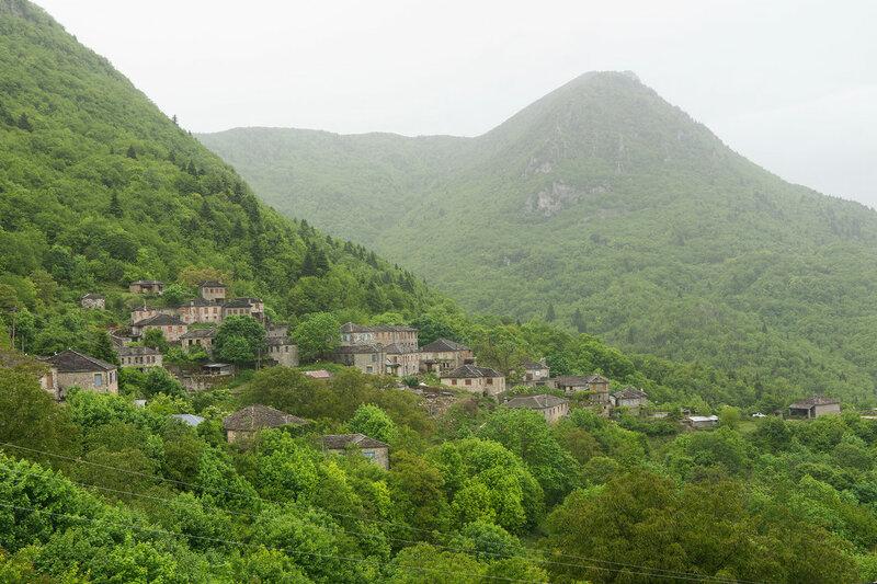 деревня Дикорифо (Dikorifo), Загория, Греция
