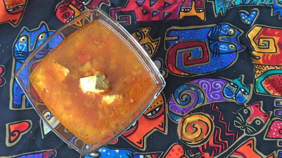 Алжирский рыбный суп
