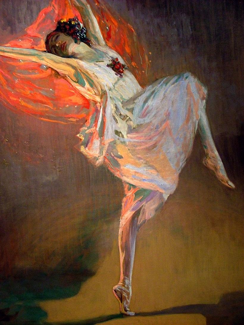 Anna Pavlova (1911). John Lavery (Irish, 1856-1941)