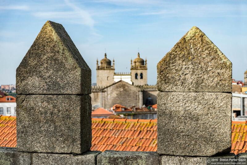 Порту. Крепостная стена Фернандина