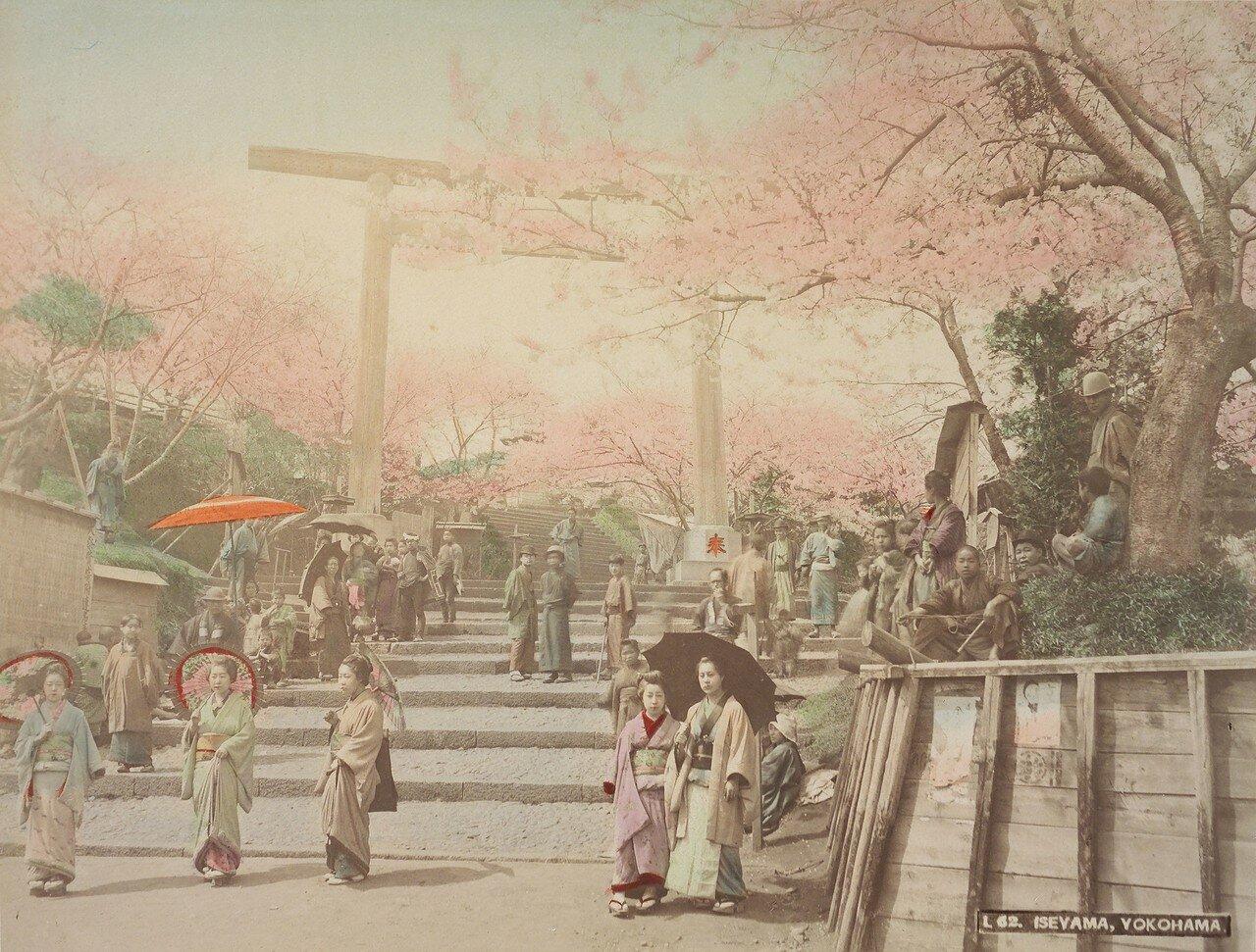 Иокогама.  Храм-монастырь Исияма Хонгандзи