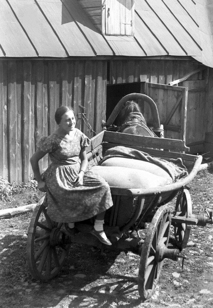 1927. Евгения Зимина