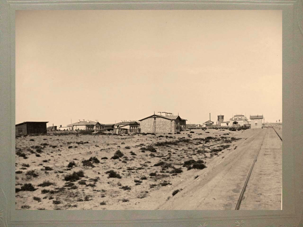 27. Вид на станцию Аральское море