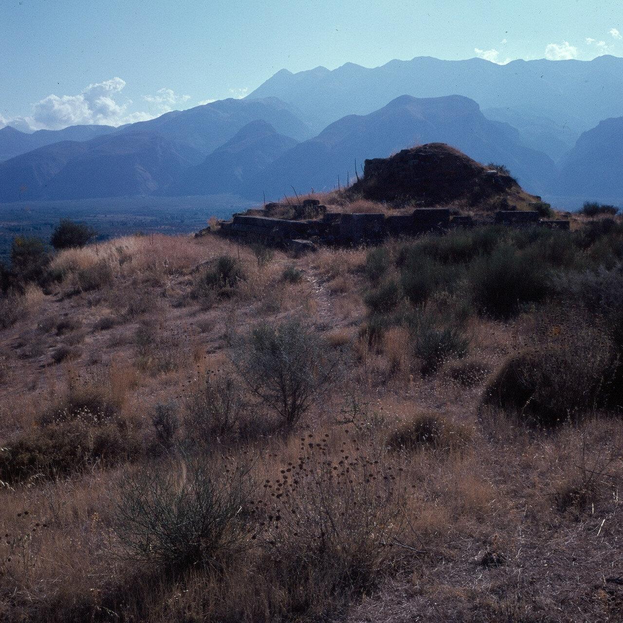 Спарта. Менелайон 5-го века д он.э. Место алтаря для поклонения Менелаю и Елене