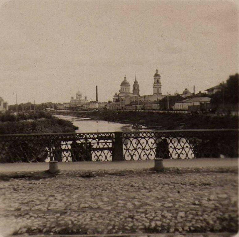 Вид с моста от Оружейного завода