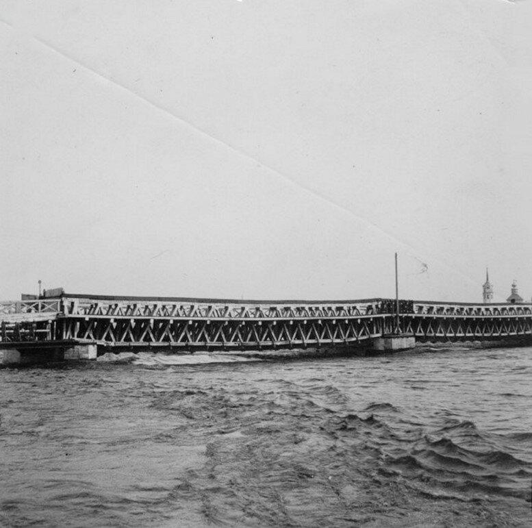 Деревянный мост через Упу