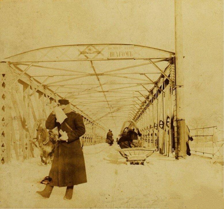 Железный мост через Упу