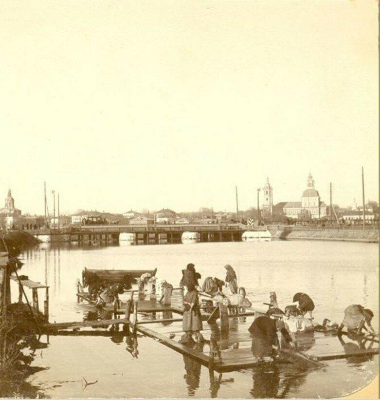 Мостки на Упе напротив Оружейного завода