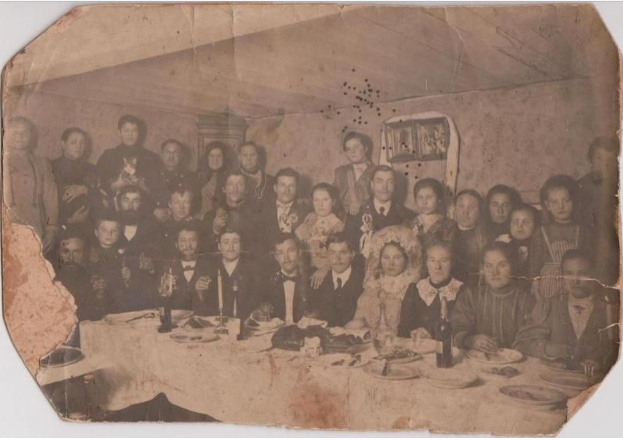 Свадьба. 1917